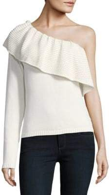 Ella Moss One-Shoulder Sweater