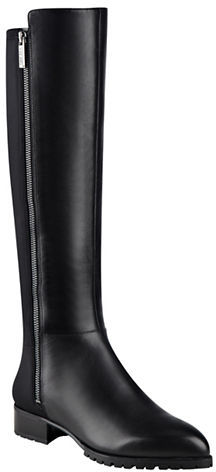 Nine West Nine West Legretto Leather Knee-High Boots