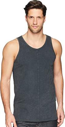 Scotch & Soda Men's Summer Singlet with Deep Side Slit