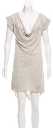 Alexander Wang Cowl Neck Silk Dress