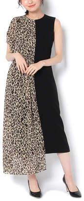 addba83583bff Loungedress (ラウンジドレス) - ラウンジドレス  PEELSLOWLY レオパードコンビドレス