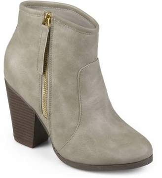Co Brinley Women's Ankle Faux Leather High Heel Booties