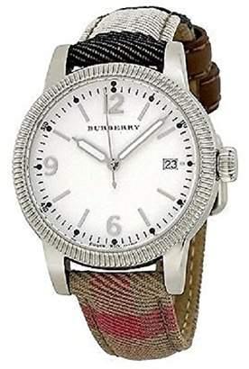 Burberry Women's Utilitarian BU7824 Leather Swiss Quartz Watch