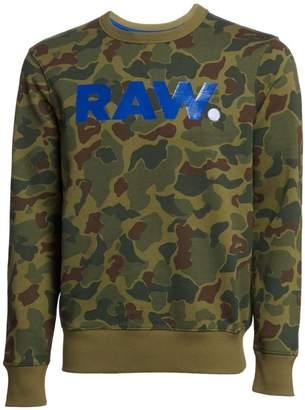 G Star Raw Zeabel Camouflage Logo Sweatshirt