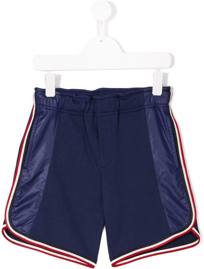 stripe trimmed shorts