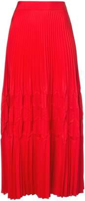 Givenchy flared midi skirt