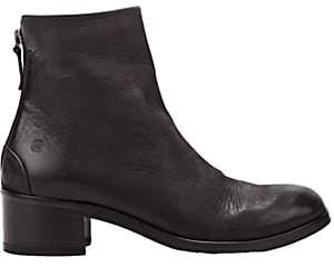 Marsèll Women's Back-Zip Ankle Boots - Black