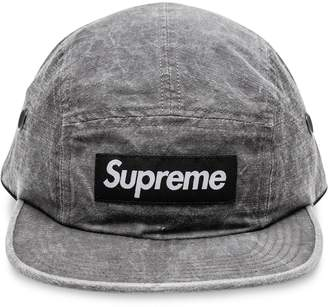 Supreme Washed Linen Camp Cap