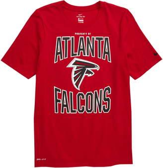 Nike NFL Logo Property of Atlanta Falcons Dri-FIT T-Shirt