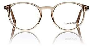 Tom Ford Men's TF5524 Eyeglasses-Beige, Tan