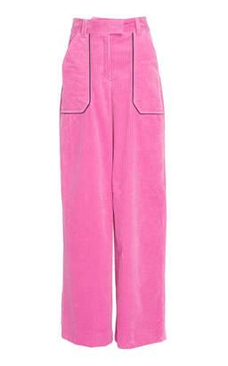 Cyclas Cotton Corduroy Wide-Leg Pants