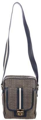 Marc by Marc Jacobs Embroidered Logo Shoulder Bag