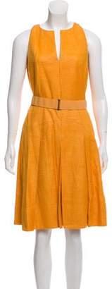 Akris Punto Silk A-Line Dress