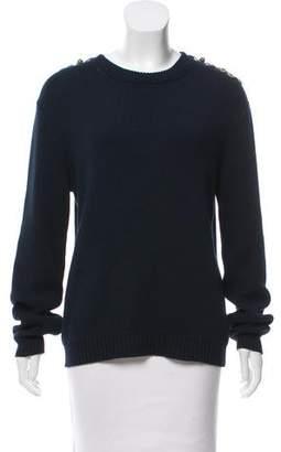 Gerard Darel Embellished Heavy Sweater