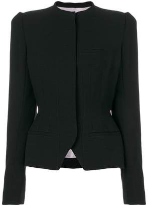 Haider Ackermann structured fitted jacket