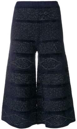 D-Exterior D.Exterior knitted culottes