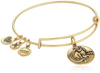 Alex and Ani Rafaelian Silver-Tone Aquarius II Expandable Wire Bangle Bracelet