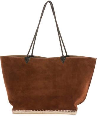 Altuzarra Large Espadrille Tote Bag, Brown