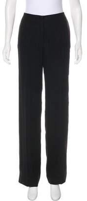 Giorgio Armani High-Rise Silk Pant