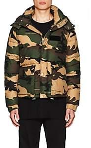 Off-White Men's Camouflage Down Puffer Coat - Beige, Tan