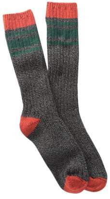 Woolrich 60 Needle Camp Crew Socks