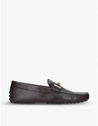 Tod's Tods Double T leather driving shoes
