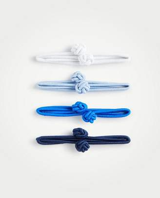Ann Taylor Knotted Hair Tie Set
