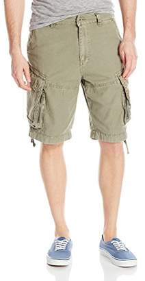 Jet Lag Men's Zipped Pockets Cargo Short