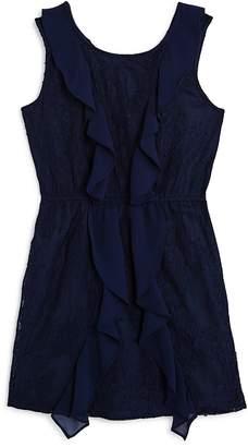 Bardot Junior Girls' Hallie Ruffled Lace Dress