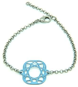 Girls' Best Friends Chain Bracelet - 19.5 cm, Brass, GBPCUSH270001