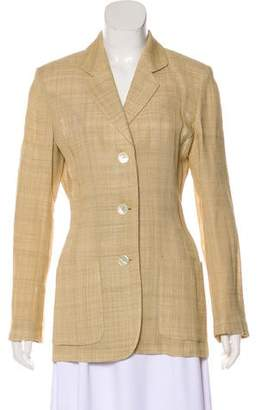 Les Copains Structured Long Sleeve Blazer