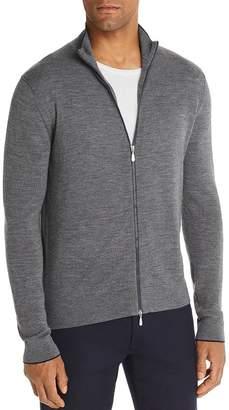 Bloomingdale's The Men's Store at Front-Zip Merino Wool Cardigan - 100% Exclusive