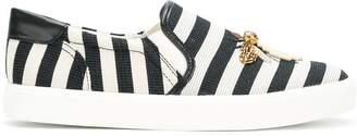 Sam Edelman striped bee detail sneakers
