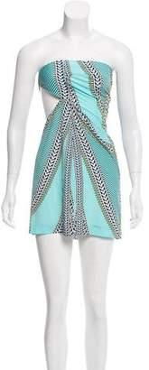Mara Hoffman Strapless Asymmetrical Dress