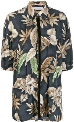 Night Market Hawaii short-sleeve shirt