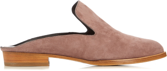 ROBERT CLERGERIE Alice suede slip-on loafers $400 thestylecure.com