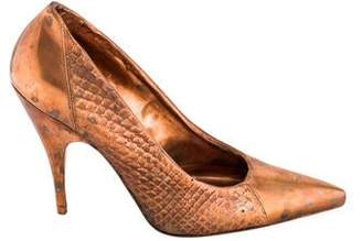 Kelly Wearstler Copper High Heel Shoe