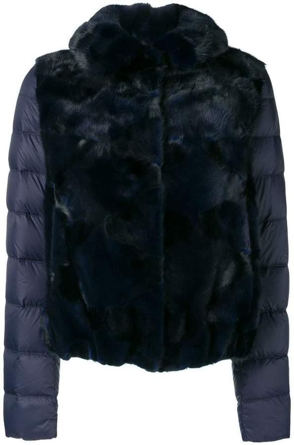 Liska mink fur padded jacket