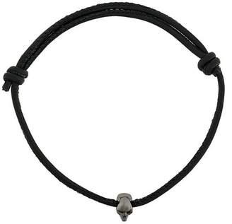 Swarovski Northskull crystal skull bead bracelet