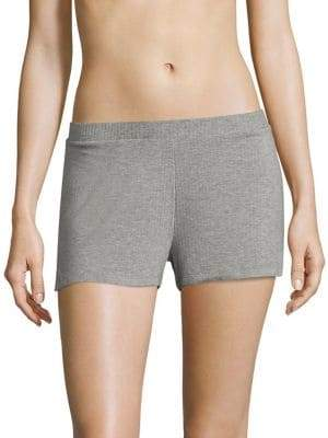 Saks Fifth Avenue COLLECTION Maddie Heathered Jersey Boxers