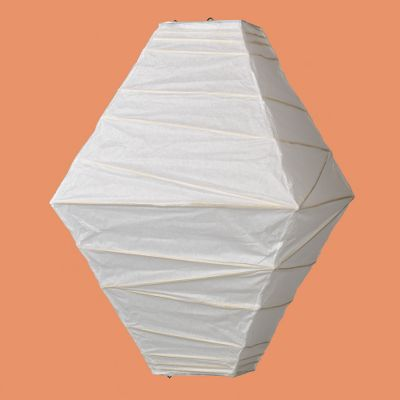 Hexagon White Paper Lantern