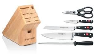Wusthof Classic 6 Piece Knife Block Set - 100% Exclusive