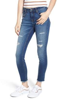 Vigoss Jagger Ripped Ankle Skinny Jeans