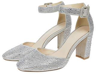 Monsoon Ruby Round Toe Diamante Sparkle Heels