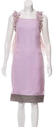 Valentino Sleeveless Embellished Dress w/ Tags