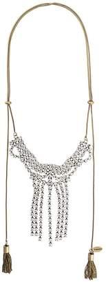 Twin-Set rhinestone choker necklace