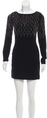 Diane von Furstenberg Kadira Chain Fringe Dress w/ Tags