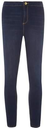 Dorothy Perkins Womens Indigo Fly Front 'Lyla' Jeans