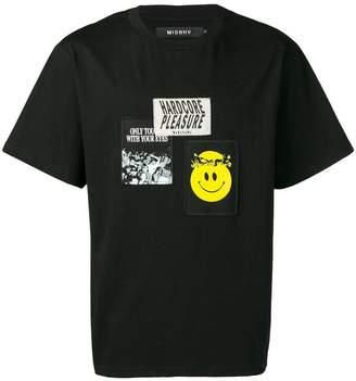Misbhv appliqué patch T-shirt