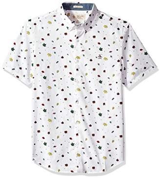 Original Penguin Men's Falling Leaves Shirt